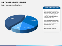 Pie chart PPT slide 9