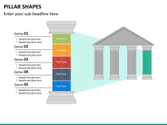 Pillar shapes PPT slide 36