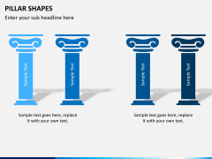 Pillar shapes PPT slide 15