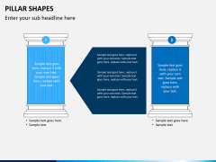 Pillar shapes PPT slide 17