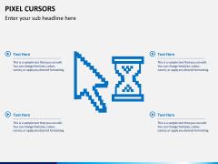 Pixel cursors PPT slide 1