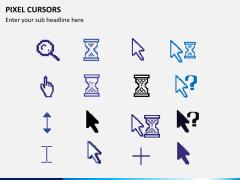Pixel cursors PPT slide 6