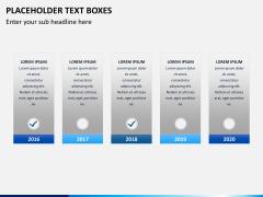 Placeholder text PPT slide 12