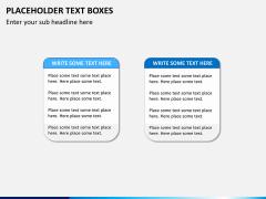 Placeholder text PPT slide 16