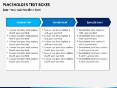 Placeholder text PPT slide 17