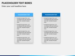 Placeholder text PPT slide 18