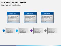 Placeholder text PPT slide 19