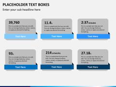 Placeholder text PPT slide 2