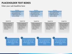 Placeholder text PPT slide 20