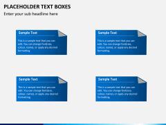 Placeholder text PPT slide 21