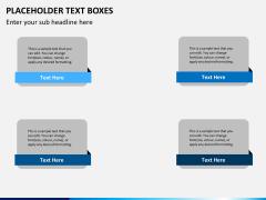 Placeholder text PPT slide 22