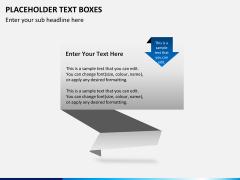 Placeholder text PPT slide 3