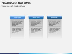 Placeholder text PPT slide 4