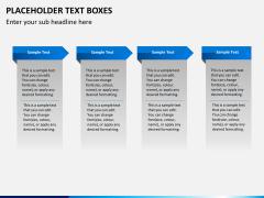 Placeholder text PPT slide 5