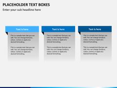 Placeholder text PPT slide 6