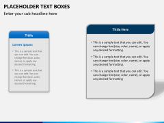Placeholder text PPT slide 7