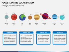 Planets in solar system PPT slide 1