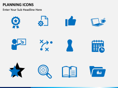 Planning Icons PPT slide 5