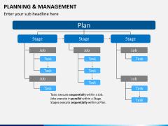 Planning and management PPT slide 1