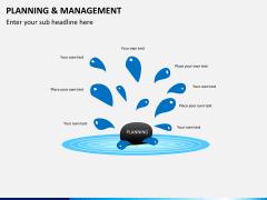 Planning and management PPT slide 3