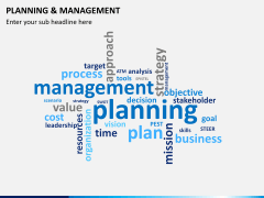 Planning and management PPT slide 8