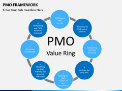 PMO framework PPT slide 18