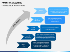 PMO framework PPT slide 9