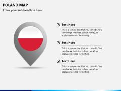 Poland map PPT slide 19