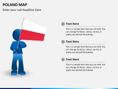 Poland map PPT slide 20