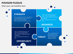 Polygon puzzle PPT slide 11
