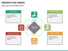 Porter's 5 forces PPT slide 18