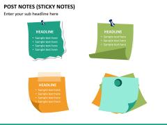 Post it notes PPT slide 12