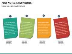 Post it notes PPT slide 14
