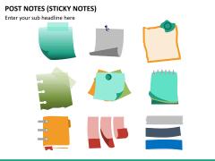 Post it notes PPT slide 16