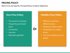 Pricing policy PPT slide 49