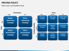 Pricing policy PPT slide 19