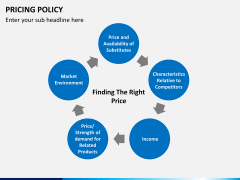 Pricing policy PPT slide 22