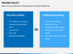 Pricing policy PPT slide 24