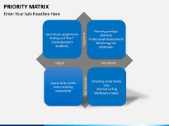 Priority matrix PPT slide 3