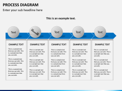 Process diagram PPT slide 10