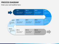 Process diagram PPT slide 6