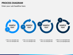 Process diagram PPT slide 8