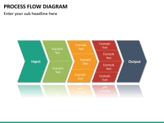 Process flow diagram PPT slide 19