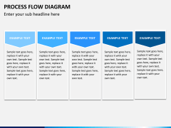 Process flow diagram PPT slide 11