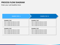Process flow diagram PPT slide 13