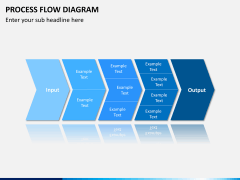 Process flow diagram PPT slide 2