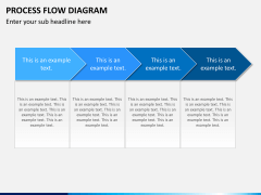 Process flow diagram PPT slide 3