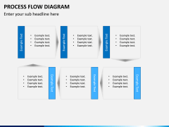 Process flow diagram PPT slide 4