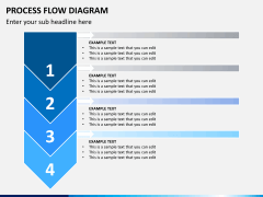 Process flow diagram PPT slide 8