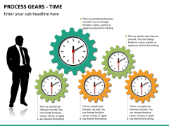 Process gears PPT slide 9